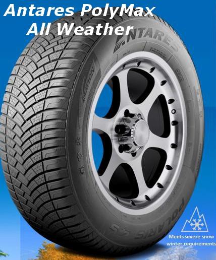 Minerva Emizero All Weather Tire Antares Polymax All Weather Tire